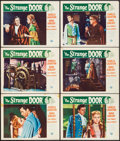 "Movie Posters:Horror, The Strange Door (Universal International, 1951). Lobby Cards (6)(11"" X 14""). Horror.. ... (Total: 6 Items)"