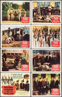 "Military Academy with That Tenth Avenue Gang (Columbia, 1950). Lobby Card Set of 8 (11"" X 14""). Comedy. ... (T..."