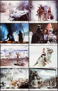 """The Empire Strikes Back (20th Century Fox, 1980). Lobby Card Set of 8 (11"""" X 14""""). Science Fiction. ... (Total..."""