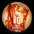 """Movie Posters:War, Force 10 from Navarone & Other Lot (American International,1978). Studio Promotional Paperweights (2) (4"""" Round, 4"""" X 4"""" X ...(Total: 2 Items)"""