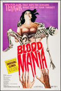 "Movie Posters:Horror, Blood Mania & Other Lot (Crown International, 1970). Posters(2) (40"" X 60"" & 30"" X 40""). Horror.. ... (Total: 2 Items)"