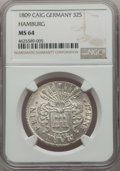 German States:Hamburg, German States: Hamburg. Republic 32 Schilling 1809-CAIG MS64 NGC,...