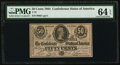 Confederate Notes:1864 Issues, T72 50 Cents 1864 PF-2 Cr. 578.. ...