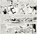 Original Comic Art:Panel Pages, Mike Sekowsky and Bernard Sachs Justice League of America #13 Story Page 26 Original Art (DC, 1962)....