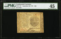 Continental Currency September 26, 1778 $20 PMG Choice Extremely Fine 45