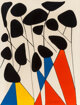 Alexander Calder (American, 1898-1976) Magie Eolienne, 1972 Lithograph in colors on paper 25-1/2 x 19-1/2 inches (64...