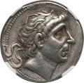 Ancients:Greek, Ancients: SELEUCID KINGDOM. Antiochus I Soter (281-261 BC). ARtetradrachm (16.94 gm). NGC XF 4/5 - 4/5....