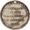 John Quincy Adams: Exceptionally Rare, Important JQA-1828-2 Campaign Medal