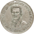 Political:Tokens & Medals, Andrew Jackson: A Rare Large 1828 Campaign Medal Variant....