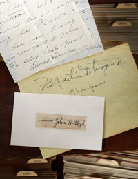 1871-2008 The Jack Smalling Baseball Autograph Collection (13,000+)