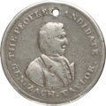 Political:Tokens & Medals, Zachary Taylor: Extremely Rare Unlisted 1848 Campaign Medal....