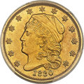 Early Quarter Eagles, 1830 $2 1/2 BD-1, R.4 -- Repaired -- PCGS Secure Genuine. AUDetails....