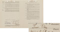 Baseball Collectibles:Others, 1941 Leon Day Signed Puerto Rican League Contract.. ...