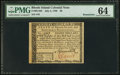 Colonial Notes:Rhode Island, Rhode Island July 2, 1780 $8 PMG Choice Uncirculated 64 Remainder.....