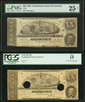 Confederate Notes:1863 Issues, T58 $20 1863 PF-17 Cr. 426; PF-24 Cr. 424.. ... (Total: 2 notes)