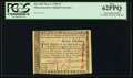 Colonial Notes, Massachusetts May 5, 1780 $7 PCGS New 62PPQ.. ...