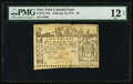 Colonial Notes:New York, New York February 16, 1771 £2 PMG Fine 12 Net.. ...