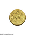 Commemorative Gold: , 1915-S $2 1/2 Panama-Pacific Quarter Eagle MS65 NGC. The Pan-Pacquarter eagle is the only gold commemorative of this denom...