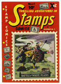 "Golden Age (1938-1955):Non-Fiction, Stamps Comics #2 Davis Crippen (""D"" Copy) pedigree (YouthfulMagazines, 1951) Condition: FN/VF. Overstreet 2006 FN 6.0 value..."