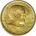 Commemorative Gold: , 1922 G$1 Grant with Star MS67 PCGS. Sharply struck and highlylustrous with rich honey-gold color and hints of pale olive t...