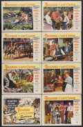 "Movie Posters:Adventure, The Treasure of Lost Canyon (Universal International, 1952). LobbyCard Set of 8 (11"" X 14""). Adventure. Starring William Po...(Total: 8 Items)"