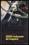 "Movie Posters:Science Fiction, 2001: A Space Odyssey (MGM, 1968). French Petite (15"" X 23.25""). Stanley Kubrick's ground-breaking science fiction epic rede..."