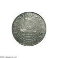 Colonials: , 1776 $1 Continental Dollar, CURRENCY, Pewter, EG FECIT XF45 NGC.Newman 3-D, Hodder 3-B, R.3. Medium steel gray in color wi...