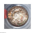 Barber Quarters: , 1913 25C MS67 PCGS. A show-stopping '13-P Quarter, one of the moredifficult Barber Quarter issues in the series at the Min...