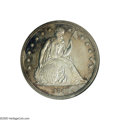 Proof Seated Dollars: , 1842 $1 PR63 NGC. Ex: Share Collection. Proof Seated dollars from1842 are certainly more frequently seen than the previou...