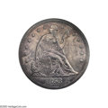 Proof Seated Dollars: , 1853 $1 Restrike PR63 ANACS. This is an intriguing coin for severalreasons. First, according to the literature there were...