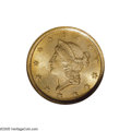 Gold Dollars: , 1852-O G$1 MS66 NGC. The 1852-O is a scarcer O-mint Type One gold dollar. Several dozen Uncirculated coins are known today,...