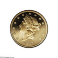 Proof Liberty Double Eagles: , 1892 $20 PR65 Deep Cameo PCGS. Only 93 proofs were struck of theDouble Eagle in 1892, in addition to 4,410 business strike...