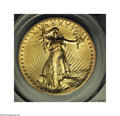 High Relief Double Eagles: , 1907 $20 High Relief, Wire Rim MS63 PCGS. This lovely coin has thelook of an even higher grade. We can find no bothersome ...