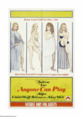 """Movie Posters:Comedy, Anyone Can Play (Paramount, 1968). Australian One Sheet (27"""" X40""""). Four actresses have strange and unusual sex lives in th..."""
