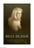 "Movie Posters:Drama, Belle De Jour (Allied Artists, R-1995). One Sheet (27"" X 41""). Catherine Deneuve plays a frigid woman who finds it difficult..."