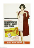"""Movie Posters:Drama, Butterfield 8 (MGM, 1960). Australian One Sheet (27"""" X 40"""").Elizabeth Taylor won her first Oscar for this film, even though..."""