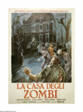 "Movie Posters:Horror, The Child (Panorama Films, 1977). Italian 4-Folgio (55"" X 78""). An eleven-year-old girl is being helped by zombies to avenge..."