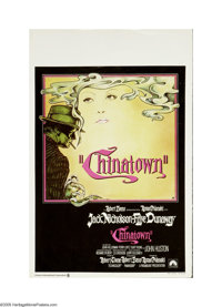 "Chinatown (Paramount, 1974). Belgian Window Card (14"" X 22""). ""Forget it, Jake. It's Chinatown."" Rom..."