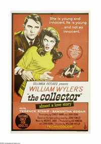 """The Collector (Columbia, 1964). Australian One Sheet (27"""" X 40""""). Terence Stamp plays a socially bumbling butt..."""