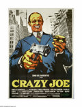 """Movie Posters:Crime, Crazy Joe (Columbia, 1974). Italian 4-Foglio (55"""" X 78""""). Inspiredby the success of """"The Godfather,"""" this film about the li..."""
