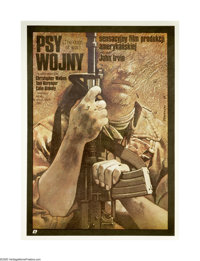 """The Dogs of War (United Artists, 1981). Polish One Sheet (26"""" X 37""""). This adaptation of Frederick Forsyth's n..."""
