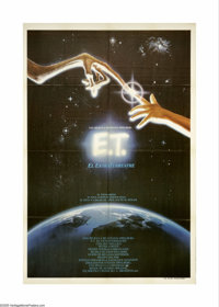 """E.T. The Extra-Terrestrial (Universal, 1982). Spanish One Sheet (29"""" X 43""""). Steven Spielberg's blockbuster ab..."""
