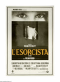 """Movie Posters:Horror, The Exorcist (Warner Brothers, 1973). Italian 2-Foglio (39"""" X 55"""").In 1973, this tale of a demon-possessed little girl and ..."""