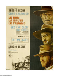 "The Good, The Bad and The Ugly (United Artists, 1968). French Petite (23"" X 31""). Offered here is an original..."