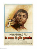 "Movie Posters:Sports, The Greatest (Columbia, 1977). Italian 4-Foglio (55"" X 77"").Muhammad Ali plays himself in this screen adaptation of his aut..."