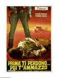 """Movie Posters:Western, I'll Forgive You, Before I Kill You (Devon Film, 1970). Italian4-Foglio (55"""" X 78""""). This is an original poster for this sp..."""
