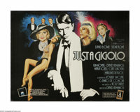 "Just a Gigolo (Leguan Film Berlin, 1979). British Quad (30"" X 40""). Offered here is an original poster for thi..."