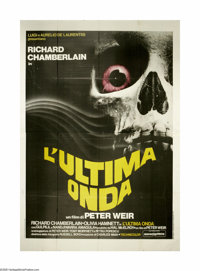 "The Last Wave (Ayer Productions, 1979). Italian 4-Foglio (55"" X 78""). Peter Weir's apocalyptic view of culture..."