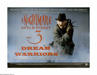 """A Nightmare on Elm St. Part 3: Dream Warriors (New Line, 1987). British Quad (30"""" X 40""""). In this lot offers a..."""