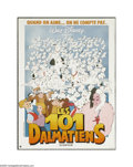 "Movie Posters:Animated, One Hundred and One Dalmations (Buena Vista, 1961). Belgian WindowCard (16"" X 21""). The wonderful story of Dalmatian parent..."